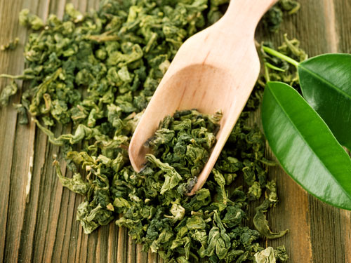 Grüner Tee gegen Pickel