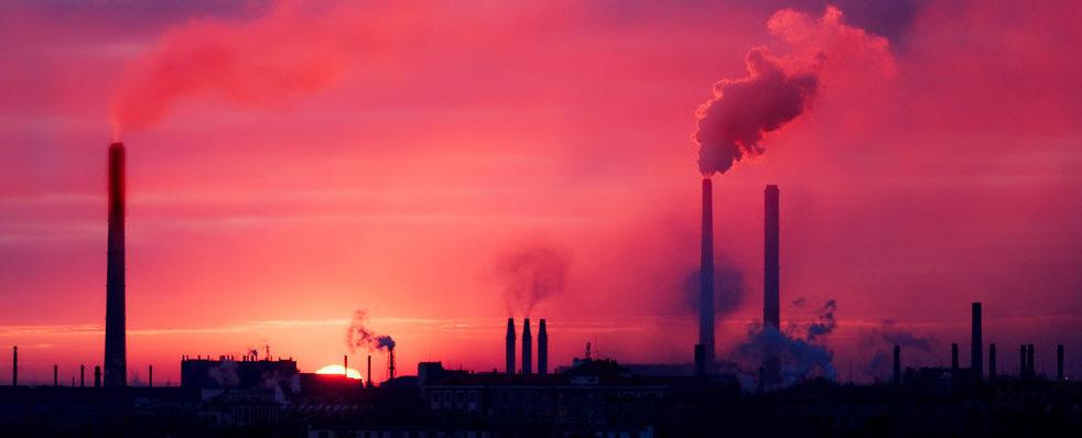 Luftverschmutzung und Pickel hängen eng zusammen.