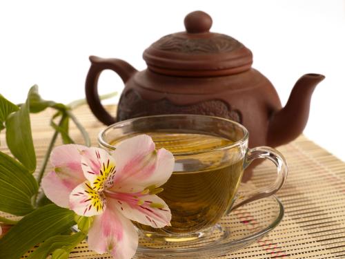 Grüner Tee gegen Pickel - Teezeremonie