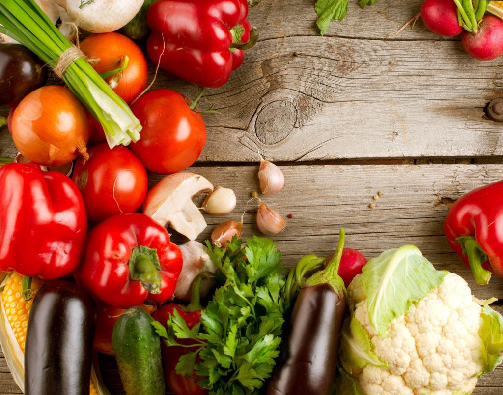 gesunde Ernährung gegen Pickel
