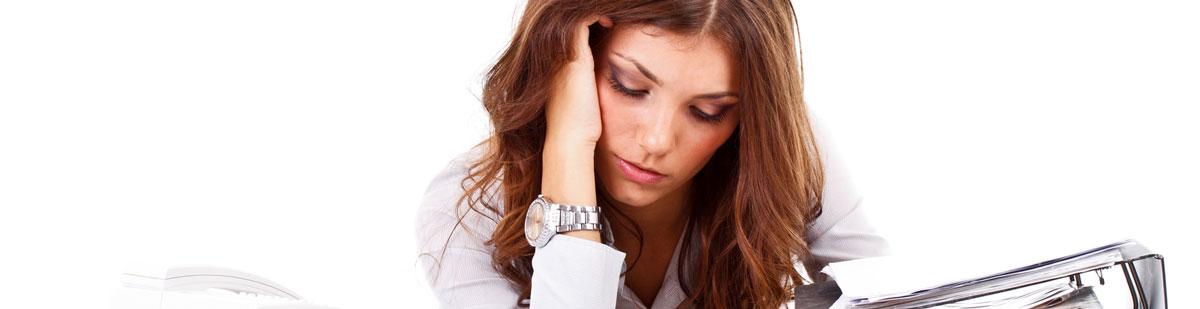 Stress führt zu unreiner Haut