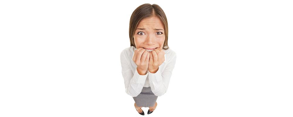 Stress und Akne