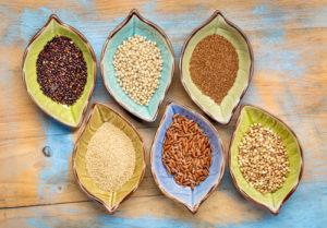 Auswahl glutenfreier Getreidesorten